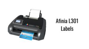 Afinia L301 Labels