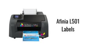 Afinia L501 Labels