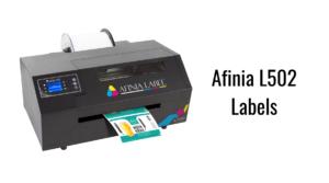 Afinia L502 Labels