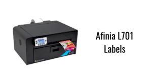 Afinia L701 Labels
