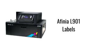 Afinia L901 Labels