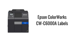 Epson ColorWorks CW-C6000A Labels
