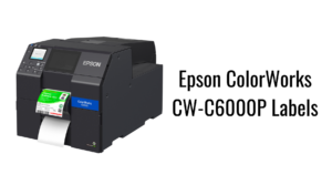 Epson ColorWorks CW-C6000P Labels