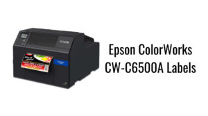 Epson ColorWorks CW-C6500A Labels