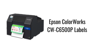 Epson ColorWorks CW-C6500P Labels