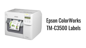 Epson ColorWorks TM-C3500 Labels