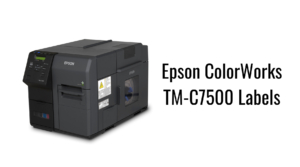 Epson ColorWorks TM-C7500 Labels