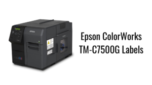 Epson ColorWorks TM-C7500G Labels