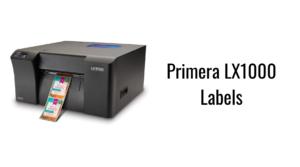 Primera LX1000 Labels