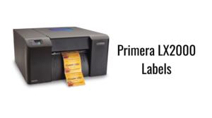 Primera LX2000 Labels