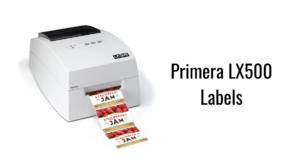 Primera LX500 Labels