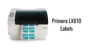 Primera LX610 Labels